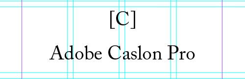 Adobe Caslon Pro