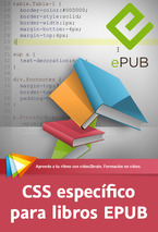 CSS específico para libros EPUB