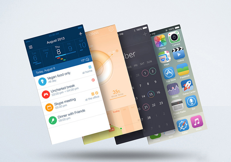 Float Mobile Display Mockup