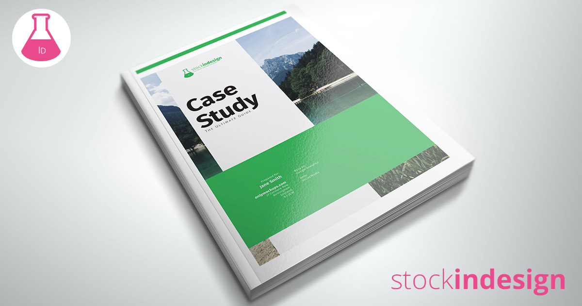 Case study template stockindesign for Stock indesign