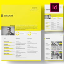 FREE Resume Templatefor InDesign