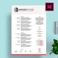 FREE InDesign Resume Template for Designers