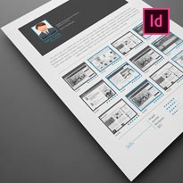 FREE 5 Resume InDesign Templates
