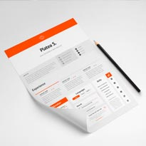 A4 / US Letter Resume Template