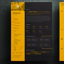 My Personal Resume, With Free PSD