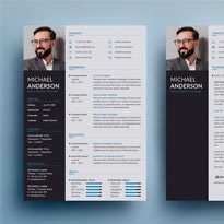 Free Resume + Cover Letter Templates PSD