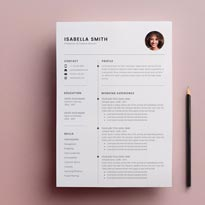 Free Resume Template 3 Page