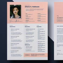 Resume Template Vol-06 Free