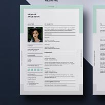 Resume Template Vol-07 Free