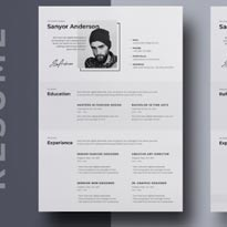 Resume Template Vol-05 Free