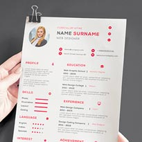 Free Download Business Resume Template