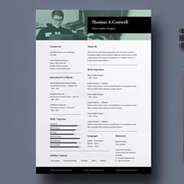 Resume Template Vol-10 Free Download PSD