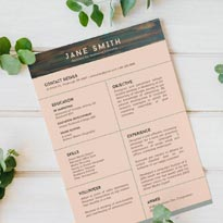 Free Resume Template for Internship Student with No Experience