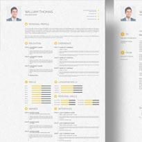 Free CV/ Resume, Cover Letter & Portfolio Design Template in PSD, IDML & INDD Format
