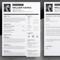 Free 2 Page Resume Template With Cover Letter