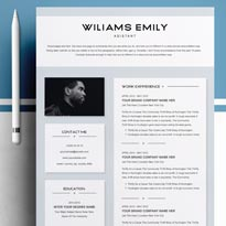 Free Clean Professional Resume Template Word Resume