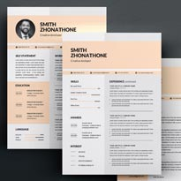 Free Modern & Professional Word Resume Template