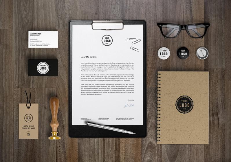 Branding / Identity MockUp Vol.7