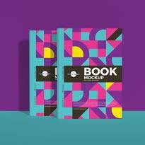 Free Book Mockup For Cover Branding