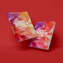 Free Brand Books Mockup PSD For Presentation