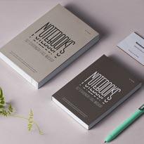 Psd Notebook Stationery Mockup