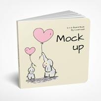 Children's Board Book Mockup