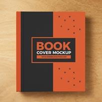 MOCK-UPSFree Book Cover Mockup PSD