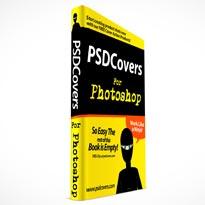 hardcover open book psd