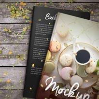 Basil & Spice 5 x 8 Hardcover Book Mockup