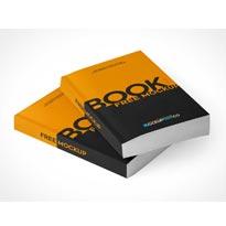 Paperback Book 2 Free PSD Mockups