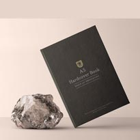 A5 Psd Book Mockup Hardcover Vol7