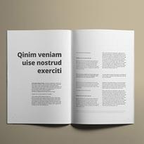 A4 Brochure Mockups Vol. 1