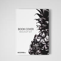 Free Book Cover PSD MockUps