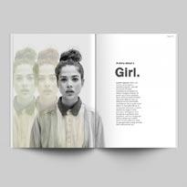 Free Magazine Mockup Template PSD