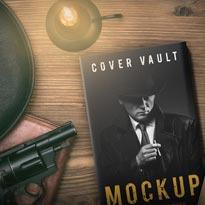 Secret Agent Detective 5 x 8 Book Mockup