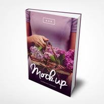 6 x 9 Hardcover eBook Mockup