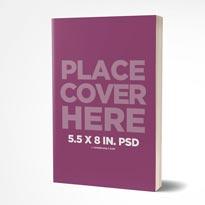5.5 x 8 in. Paperback Mockup