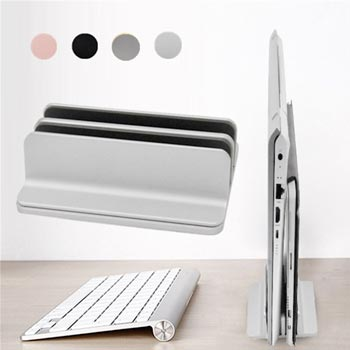 Adjustable Vertical Laptop Stand Desktop Tablet Notebook Computer Rack Holder