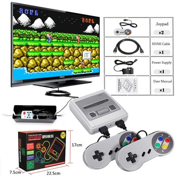 Super Mini HD Family TV 8 Bit SNES Video Game Console Retro Classic