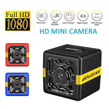 1080P Mini Camera Infrared Night Vision HD Sports DV Camera For Home Car Drone Office Security Monitor