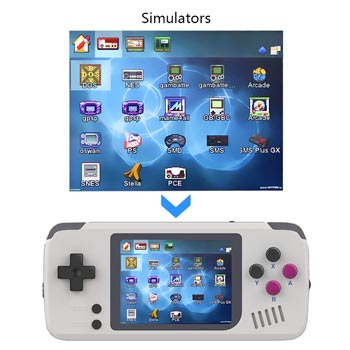 Game Console,PocketGo,Video Game Console Retro Handheld