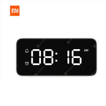 Xiaomi mi jia xiaoai intelligent voice broadcast alarm clock with mi home application