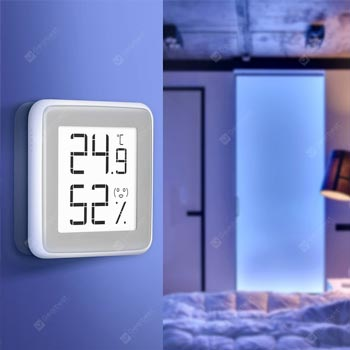 Electronic E-ink Screen Thermometer Hygrometer