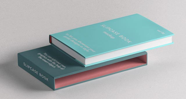 Slipcase Book Mockup Vol6