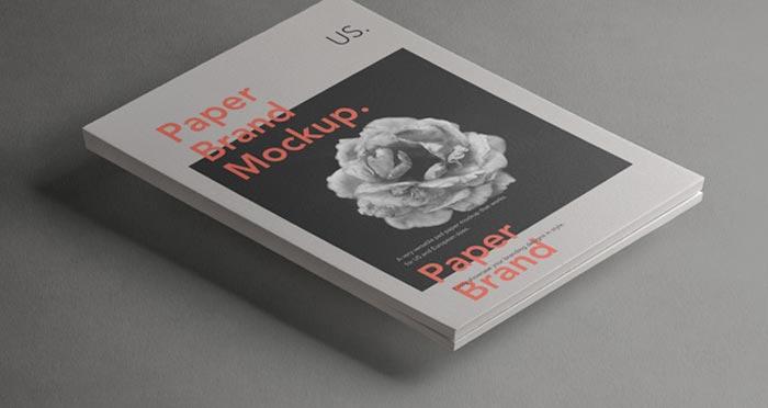 Paper Brand Mockup Vol2