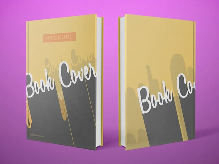 Simple Front and Back Cover Book