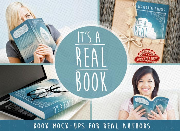 7 Photorealistic Book Mockups